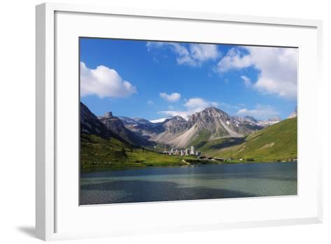 Tignes, Vanoise National Park, Savoie, Rhone Alpes, France, Europe-Christian Kober-Framed Art Print