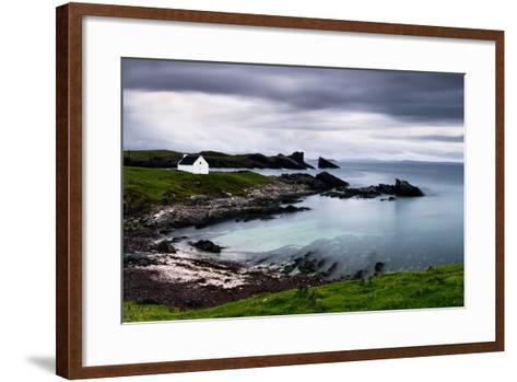 Clachtoll, Sutherland, Highland, Scotland, United Kingdom, Europe-Bill Ward-Framed Art Print