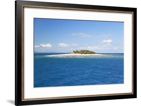 South Seas Island, Mamanuca Islands, Fiji, South Pacific, Pacific-Ian Trower-Framed Art Print