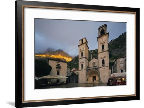 Svetog Tripuna Cathedral, Kotor, UNESCO World Heritage Site, Montenegro, Europe-Christian Kober-Framed Art Print