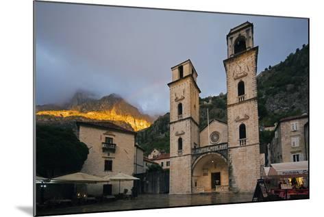 Svetog Tripuna Cathedral, Kotor, UNESCO World Heritage Site, Montenegro, Europe-Christian Kober-Mounted Photographic Print