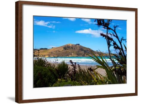 Waikouaiti Reserve, Otago, South Island, New Zealand, Pacific-Suzan Moore-Framed Art Print