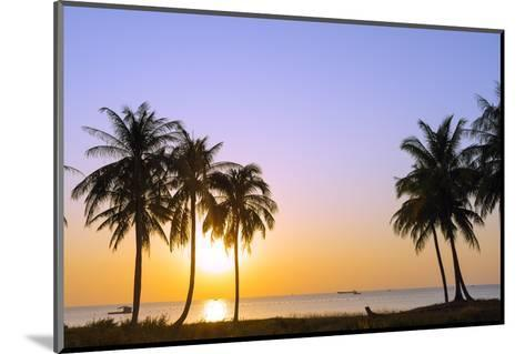 Sunset at Long Beach, Phu Quoc Island, Vietnam, Indochina, Southeast Asia, Asia-Christian Kober-Mounted Photographic Print