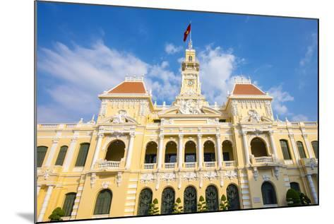 Colonial Facade of Ho Chi Minh City Hall (Ho Chi Minh City People's Committee), Vietnam-Jason Langley-Mounted Photographic Print