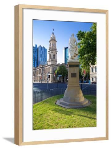 Victoria Square, Australia, Oceania Post Office, Adelaide, South Australia, Oceania-Frank Fell-Framed Art Print