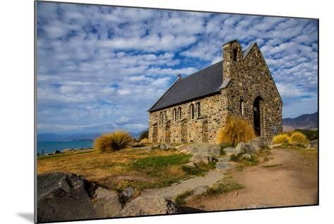 Church of the Good Shepherd, Lake Tekapo, South Island, New Zealand, Pacific-Suzan Moore-Mounted Photographic Print