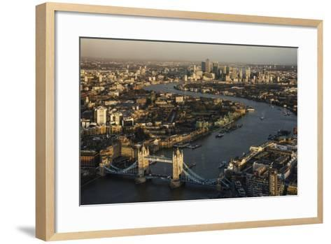 The View from the Shard, London, England, United Kingdom, Europe-Ben Pipe-Framed Art Print