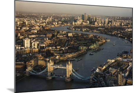 The View from the Shard, London, England, United Kingdom, Europe-Ben Pipe-Mounted Photographic Print