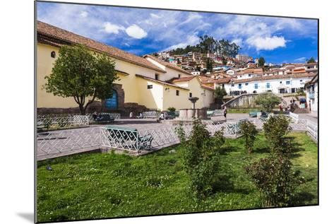 San Blas Square (Plazoleta De San Blas), Cusco, Cusco Region, Peru, South America-Matthew Williams-Ellis-Mounted Photographic Print