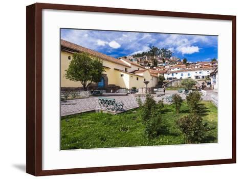 San Blas Square (Plazoleta De San Blas), Cusco, Cusco Region, Peru, South America-Matthew Williams-Ellis-Framed Art Print