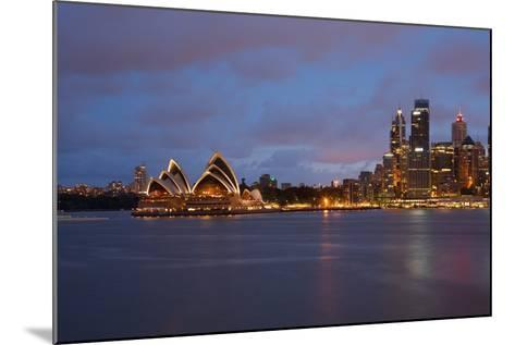 Opera House from North Sydney, Sydney, New South Wales, Australia, Oceania-Frank Fell-Mounted Photographic Print