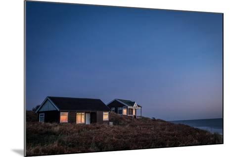 Beach Huts, Embleton Bay, Northumberland, England, United Kingdom, Europe-Bill Ward-Mounted Photographic Print