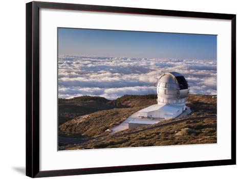 Observatory Gran Telescopio Canarias, Parque Nacional De La Caldera De Taburiente, Canary Islands-Markus Lange-Framed Art Print