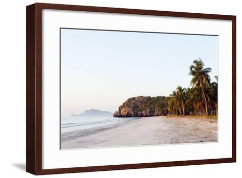 Sam Phraya Beach, Khao San Roi Yot National Park, Prachuap Kiri Khan, Thailand, Southeast Asia-Christian Kober-Framed Art Print