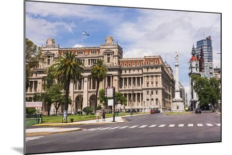 Teatro Colon in Plaza Lavalle (Lavalle Square), Buenos Aires, Argentina, South America-Matthew Williams-Ellis-Mounted Photographic Print