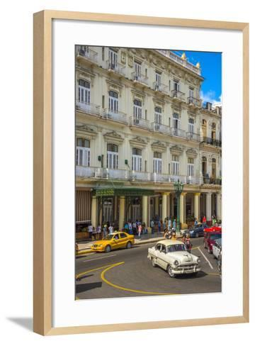 Hotel Inglaterra, Havana, Cuba, West Indies, Caribbean, Central America-Alan Copson-Framed Art Print