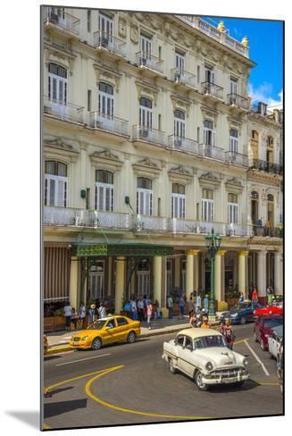 Hotel Inglaterra, Havana, Cuba, West Indies, Caribbean, Central America-Alan Copson-Mounted Photographic Print