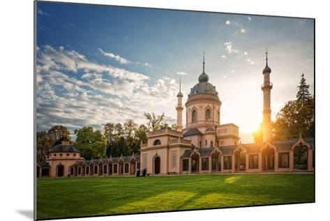 The Red Mosque, Schwetzingen, Baden-Wurttemberg, Germany, Europe-Andy Brandl-Mounted Photographic Print