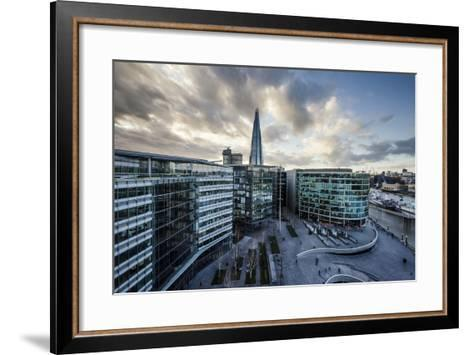 View from City Hall Rooftop over London Skyline, London, England, United Kingdom, Europe-Ben Pipe-Framed Art Print
