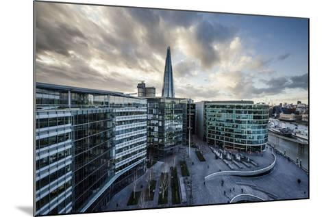 View from City Hall Rooftop over London Skyline, London, England, United Kingdom, Europe-Ben Pipe-Mounted Photographic Print