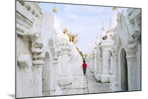 Kuthodaw Pagoda - Stupas Housing the World's Largest Book, Mandalay, Myanmar (Burma)-Alex Robinson-Mounted Photographic Print