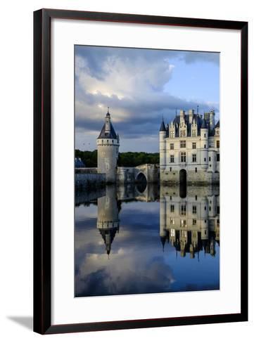 Castle of Chenonceau, Indre Et Loire-Nathalie Cuvelier-Framed Art Print
