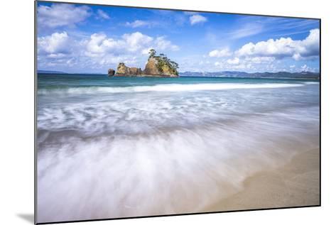 Pungapunga Island, Whangapoua Beach, Coromandel Peninsula, North Island, New Zealand, Pacific-Matthew Williams-Ellis-Mounted Photographic Print
