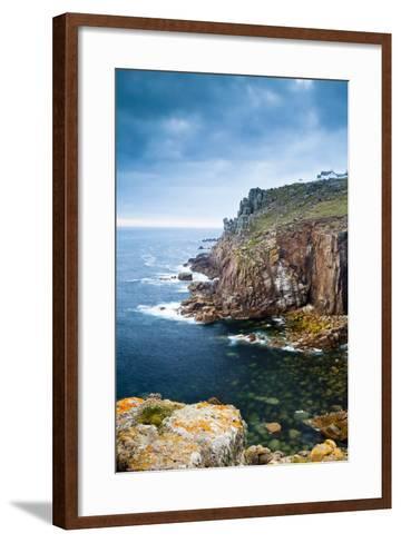 Land's End, Penzance, Cornwall, England, United Kingdom, Europe-Kav Dadfar-Framed Art Print