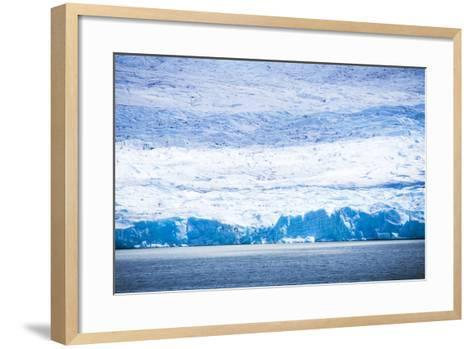 Grey Glacier (Glaciar Grey), Torres Del Paine National Park, Patagonia, Chile, South America-Matthew Williams-Ellis-Framed Art Print