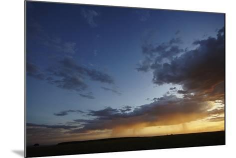 Rain and Sunset on the Maasai Mara Plains, Kenya, East Africa, Africa-Frederic Courbet-Mounted Photographic Print