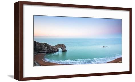 Durdle Door, Jurassic Coast, UNESCO World Heritage Site, Dorset, England, United Kingdom, Europe-John Alexander-Framed Art Print