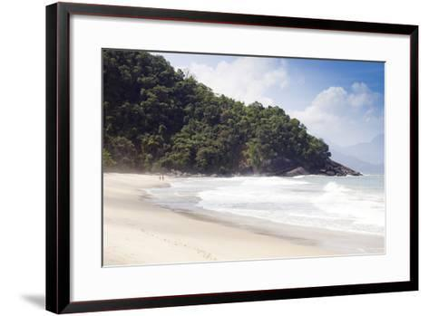 Praia Do Felix Beach, Ubatuba, Sao Paulo Province, Brazil, South America-Alex Robinson-Framed Art Print