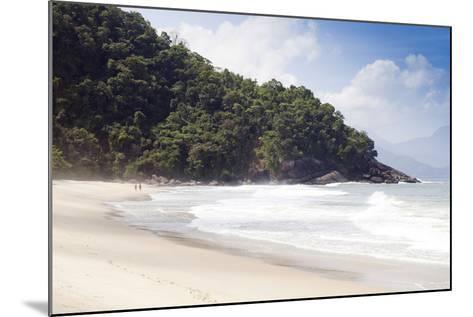 Praia Do Felix Beach, Ubatuba, Sao Paulo Province, Brazil, South America-Alex Robinson-Mounted Photographic Print