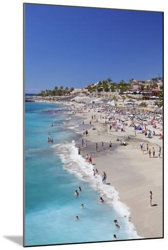 Playa Del Duque Beach at Costa Adeje, Tenerife, Canary Islands, Spain, Atlantic, Europe-Markus Lange-Mounted Photographic Print