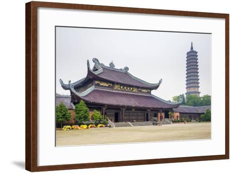 Bai Dinh Temple (Chua Bai Dinh), Gia Vien District, Ninh Binh Province, Vietnam, Indochina-Jason Langley-Framed Art Print