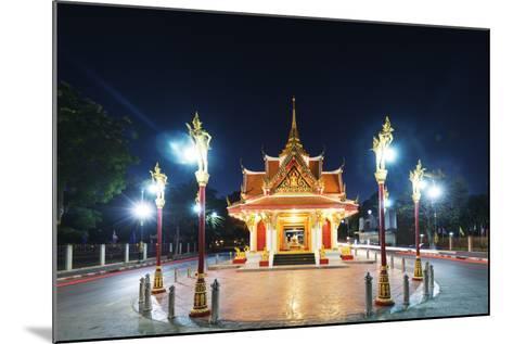 City Gate, Kanchanaburi, Thailand, Southeast Asia, Asia-Christian Kober-Mounted Photographic Print