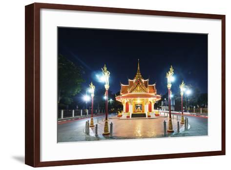 City Gate, Kanchanaburi, Thailand, Southeast Asia, Asia-Christian Kober-Framed Art Print