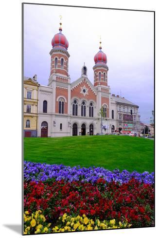 The Great Synagogue, Pilsen (Plzen), Western Bohemia, Czech Republic, Europe-Carlo Morucchio-Mounted Photographic Print