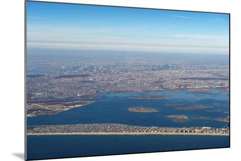 Aerial of New York, United States of America, North America-Michael Runkel-Mounted Photographic Print