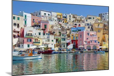Marina Corricella, Procida Island, Bay of Naples, Campania, Italy--Mounted Photographic Print