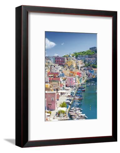 Marina Corricella, Procida Island, Bay of Naples, Campania, Italy--Framed Art Print