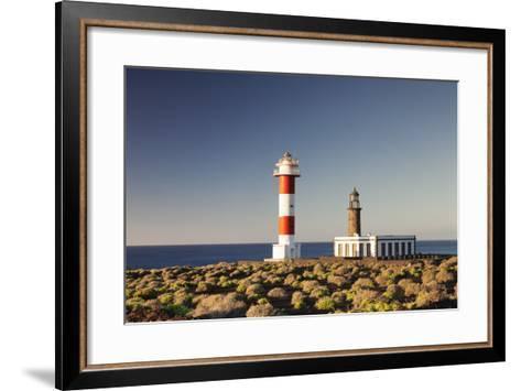 Faro De Fuencaliente Lighthouses at Sunrise, Punta De Fuencaliente, La Palma, Canary Islands, Spain-Markus Lange-Framed Art Print