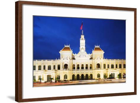 Hotel De Ville (City Hall), Ho Chi Minh City (Saigon), Vietnam, Indochina, Southeast Asia, Asia-Christian Kober-Framed Art Print