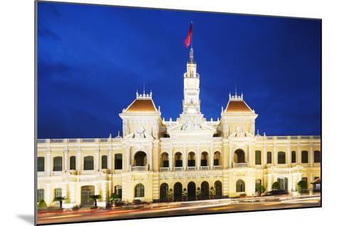 Hotel De Ville (City Hall), Ho Chi Minh City (Saigon), Vietnam, Indochina, Southeast Asia, Asia-Christian Kober-Mounted Photographic Print