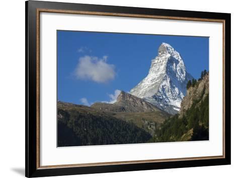Matterhorn, 4478M, Zermatt, Swiss Alps, Switzerland, Europe-James Emmerson-Framed Art Print