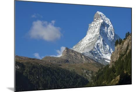 Matterhorn, 4478M, Zermatt, Swiss Alps, Switzerland, Europe-James Emmerson-Mounted Photographic Print