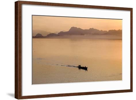 Than Lwyn (Salouen) River, Hpa An, Kayin State (Karen State), Myanmar (Burma), Asia-Nathalie Cuvelier-Framed Art Print