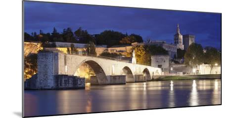 Bridge St. Benezet over Rhone River-Markus Lange-Mounted Photographic Print