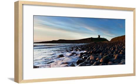 Dunstanburgh Castle, Northumberland, England, United Kingdom, Europe-John Alexander-Framed Art Print