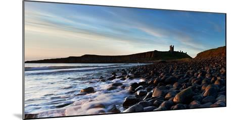 Dunstanburgh Castle, Northumberland, England, United Kingdom, Europe-John Alexander-Mounted Photographic Print